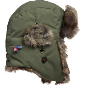 Isbjörn Kids Squirrel Winter Cap Moss